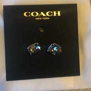 COACH Stud earrings